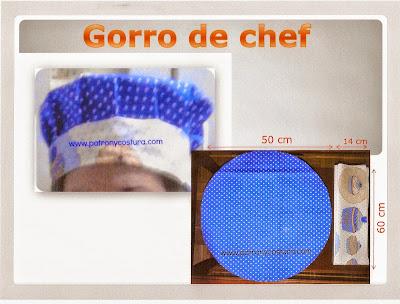 http://www.patronycostura.com/2015/04/diy-gorro-de-chef-tema-99.html
