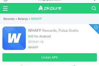 WHAFF Rewards Menghasilkan Uang