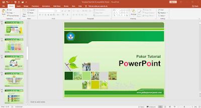 Download template PowerPoint siap pakai