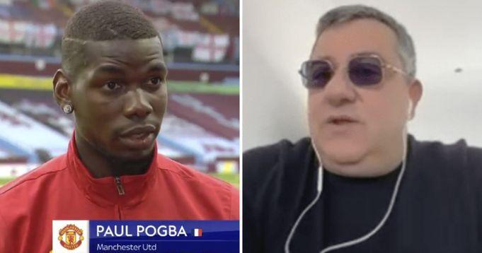 Pogba to Mino Raiola: I wants to play for Real Madrid