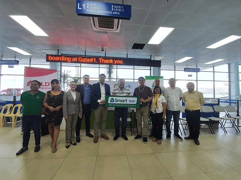 Port of Cagayan de Oro is now Smart WiFi powered