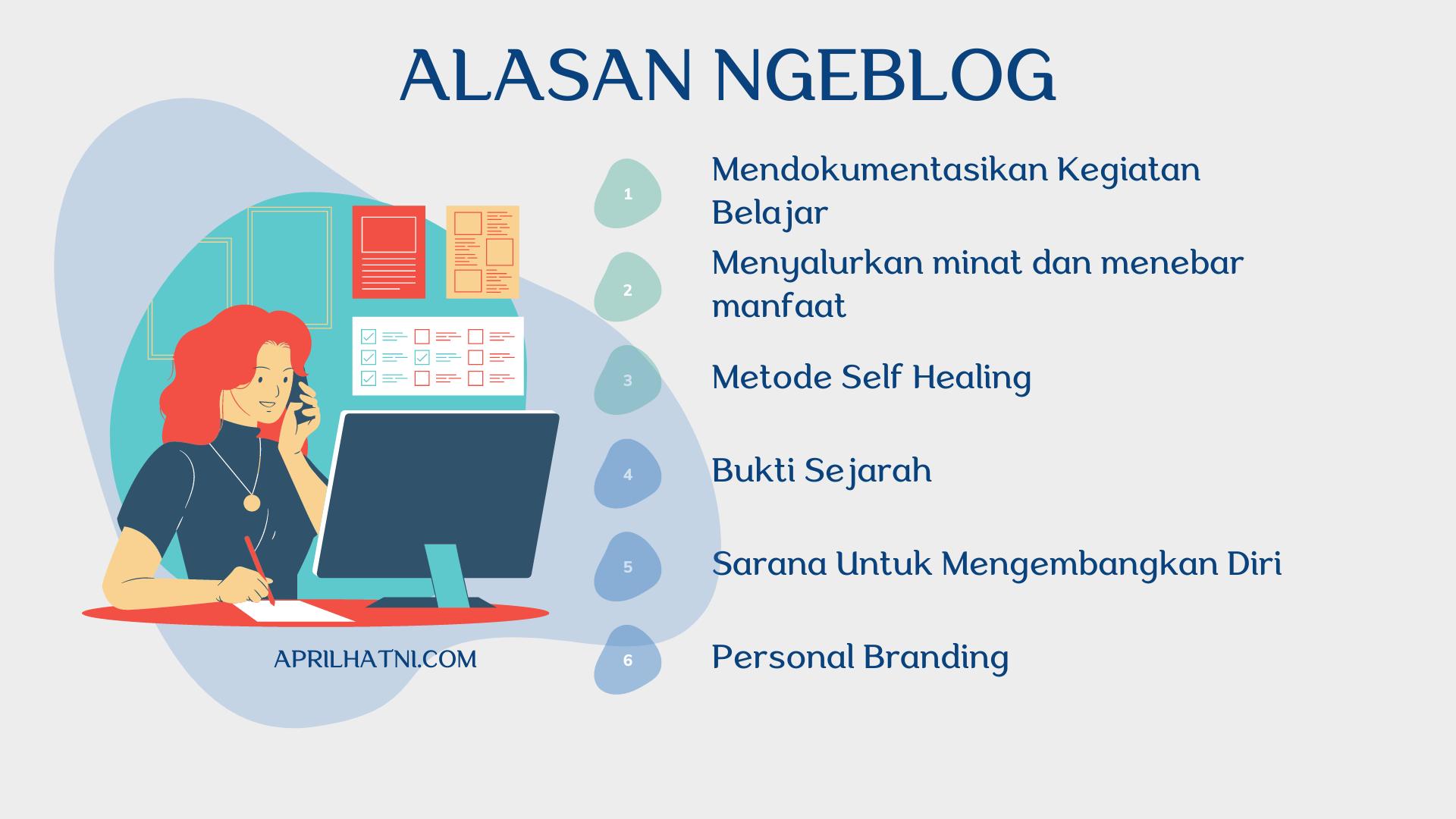 apa alasan ngeblog
