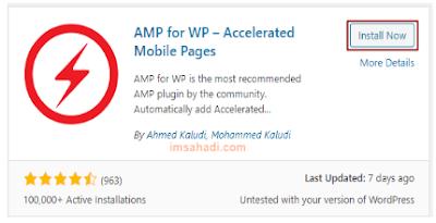 Cara Setting AMP For WP