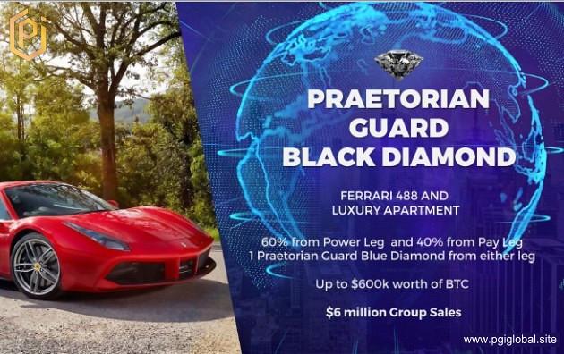 PGI Praetorian Guard BLACK DIAMOND