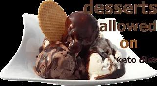 desserts allowed on keto diet 2