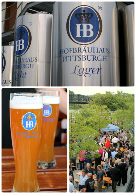 If you have never visited a Hofbrauhaus, then you need to make plans to have dinner at the one in Pittsburgh. Not only is the German food and beer there amazing, but you can't beat the waterside views from the restaurant's deck. #kidsburgh #lovepgh
