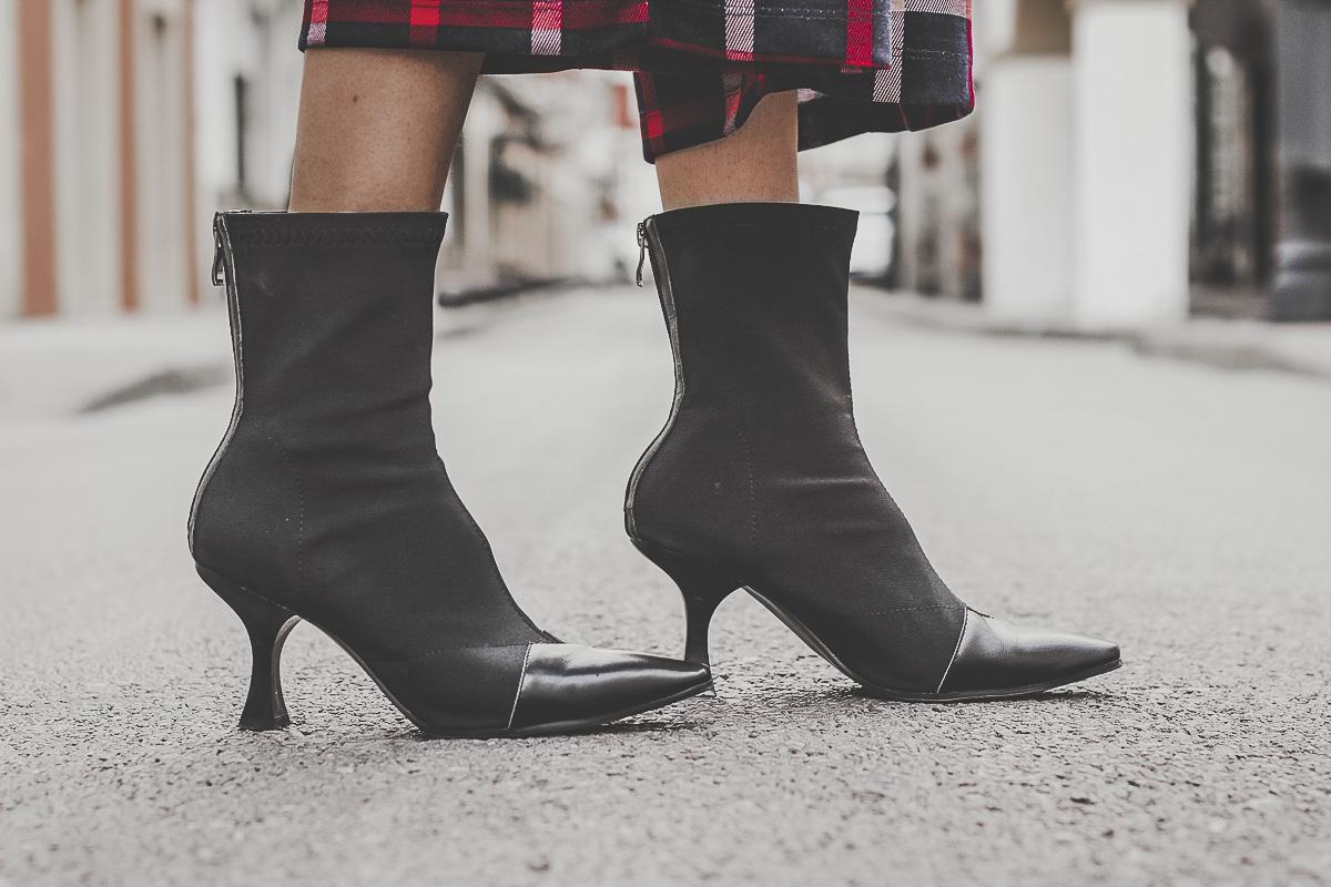 botines calcetín celine