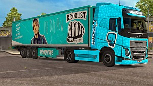 PEWDIEPIE pack for Volvo 2012 (EviL & BarbootX)