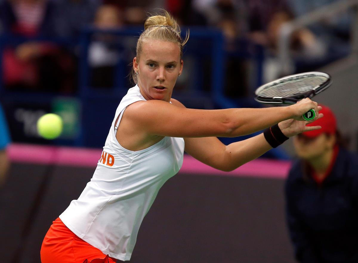 R Hogenkamp Wta WTA ANGELS: Fed Cup 20...
