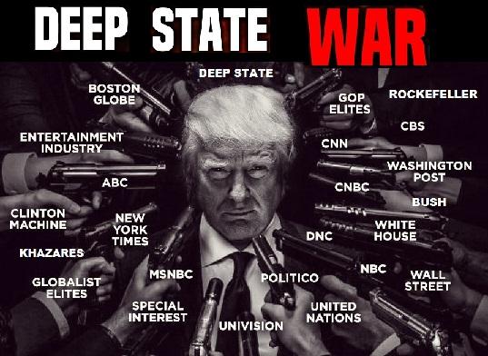The Storm - Trump lidera a guera da Aliança dos Chapéus Brancos contra o Deep State