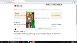 Cara mengsintall dan download minecraft