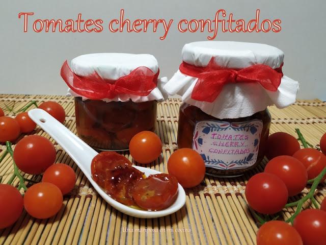 Tomatitos Cherry Confitados