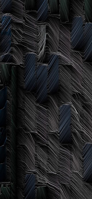 Cool thin layers of black stones wallpaper