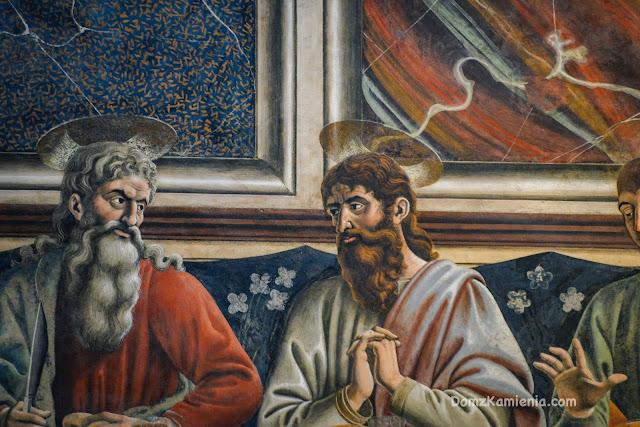 Cenacolo Sant'Apollonia dettaglio
