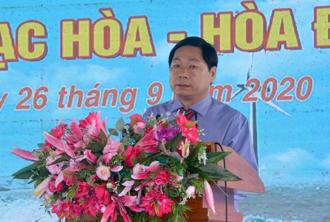hó chủ tịch UBND tỉnh Sóc Trăng phát biểu tại lễ khởi công