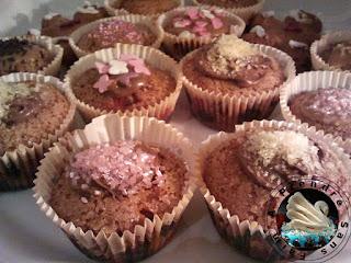 Muffins aux clémentines et canneberges