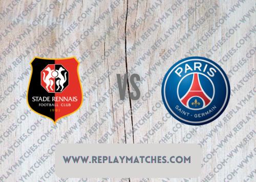 Rennes vs PSG Full Match & Highlights