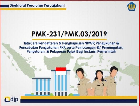 Peraturan Menteri Keuangan Republik Indonesia Nomor 231/PMK.03/2019
