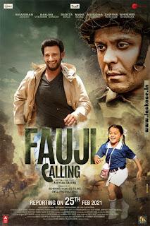 Fauji Calling First Look Poster 2