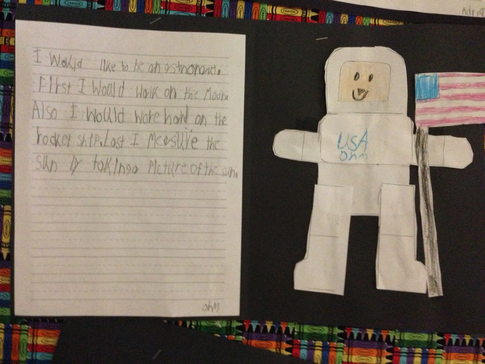 astronaut essay template - photo #33
