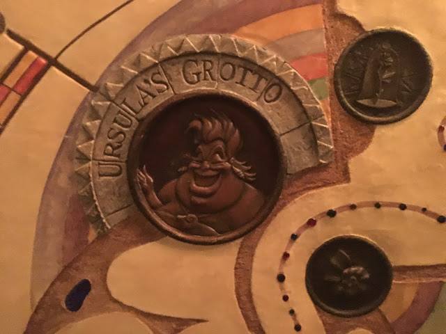 Ursula's Grotto Sign Art of Animation Disney California Adventure