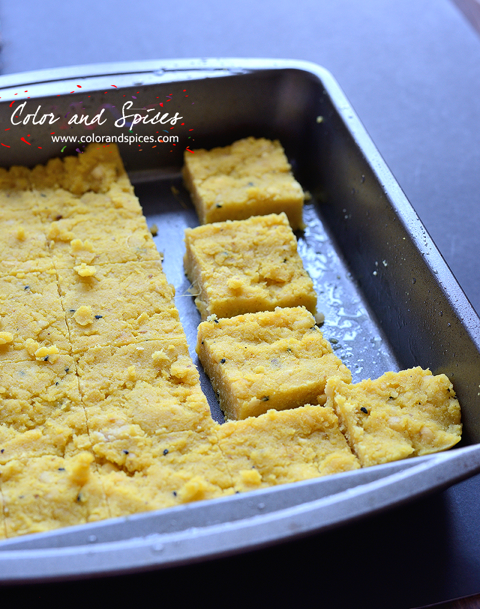 Color and Spices: Dhokar dalna   lentil cake curry