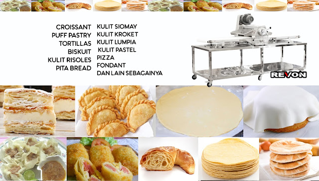 Fungsi dan Manfaat Dough Sheeter
