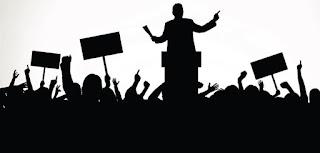 Pemerintah saja membolehkan demo
