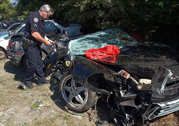 Heatley Car Crash