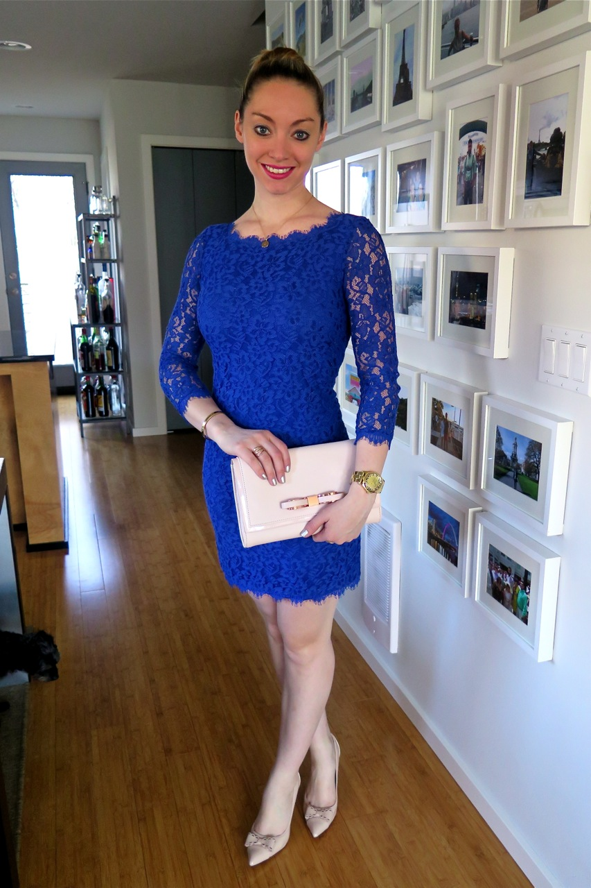 New Year S Eve Outfit Idea Dvf Zarita Lace Dress Giveaway