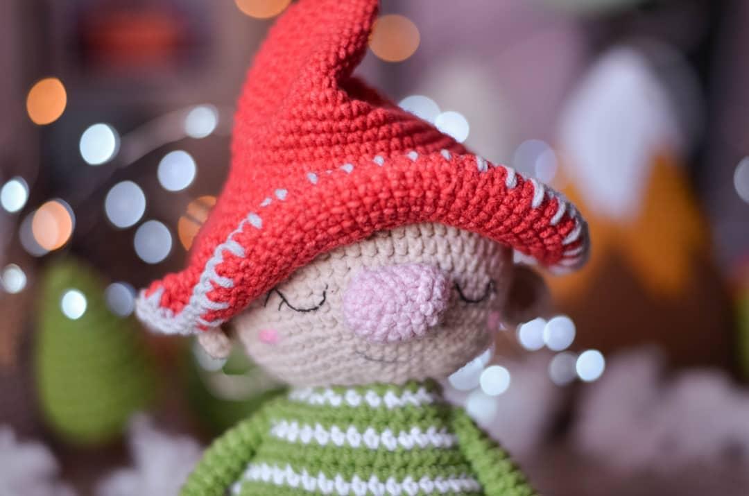 Crochet gnome free pattern