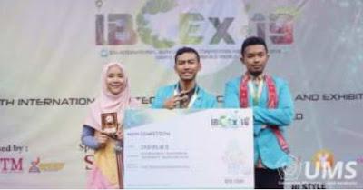 Mahasiswa Teknik Kimia UMS Sabet Juara 2 dalam 5th IBCEx di Malaysia