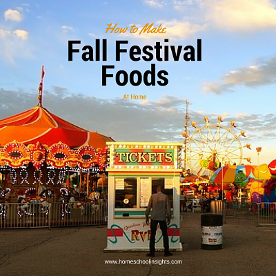 Fall Festival Foods