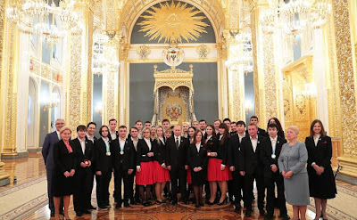 Vladimir Putin had a meeting with members of WorldSkills-Russia national team.