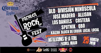 pachuca rock fest 2018