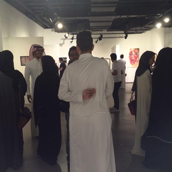 men art gallery riyadh saudi arabia photo