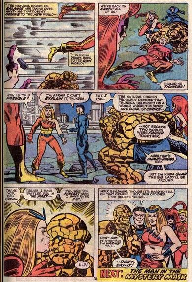 Fantastic Four 153-Thundra-Mahkizmo