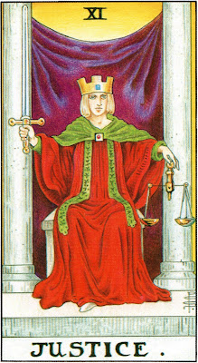 Justice Tarot Card Meaning- Major Arcana
