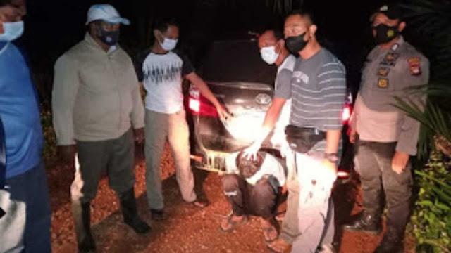 Curi Mobil Di Kalteng, Pelaku Diamankan di Polsek Toba