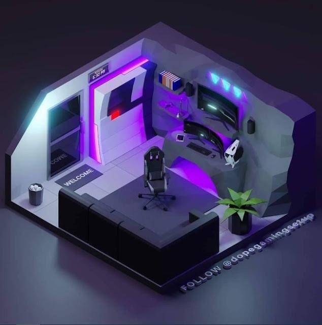 Konsep Desain Ruang Komputer Keren Untuk Youtuber