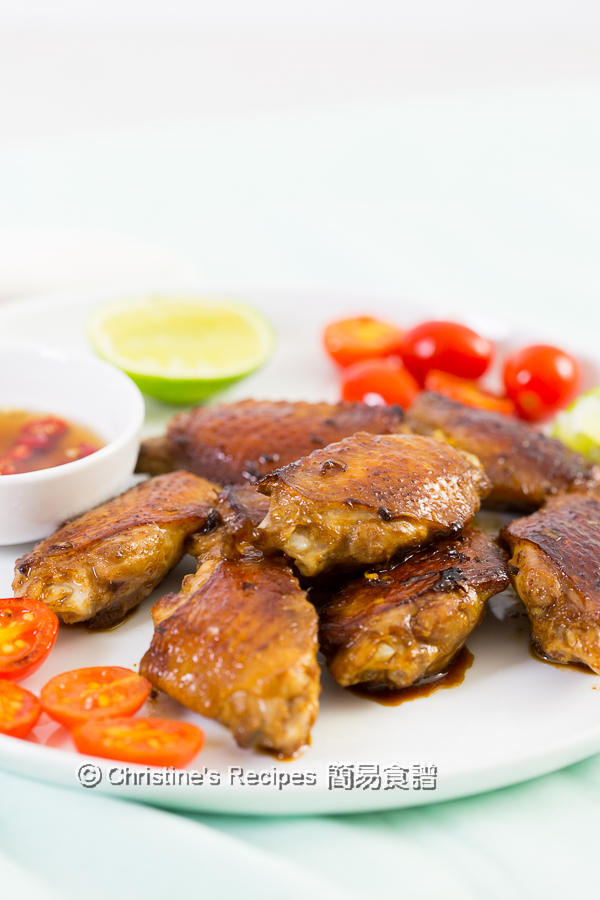 香煎香茅雞翼 Pan Fried Lemongrass Chicken Wings02