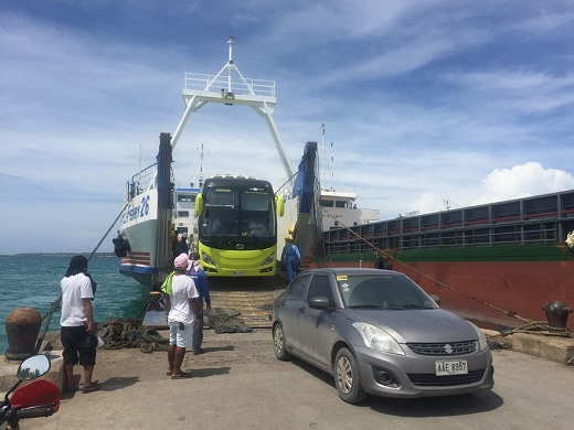 Alighting at Sta. Fe Port in Bantayan Island