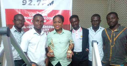 BAMA 2018: Rev Mrs Janet Bossman Presents Awards to Akonoba FM