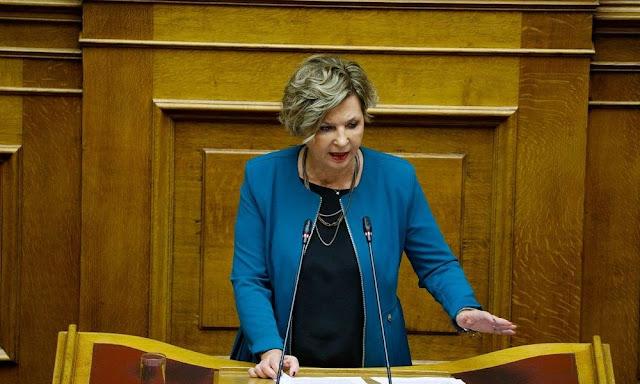 Όλγα Γεροβασίλη: Με τον προϋπολογισμό αποκαλύφθηκε η απάτη της ΝΔ σε βάρος του ελληνικού λαού – VIDEO