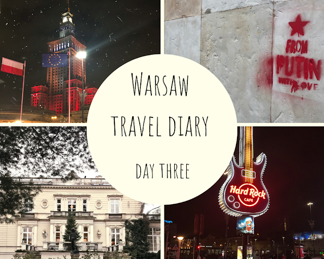 warsaw travel blog