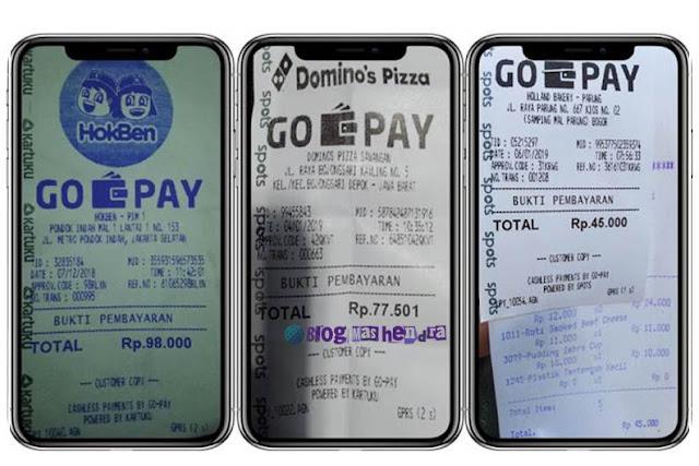 Jajan Pakai Dompet Digital Go-Pay