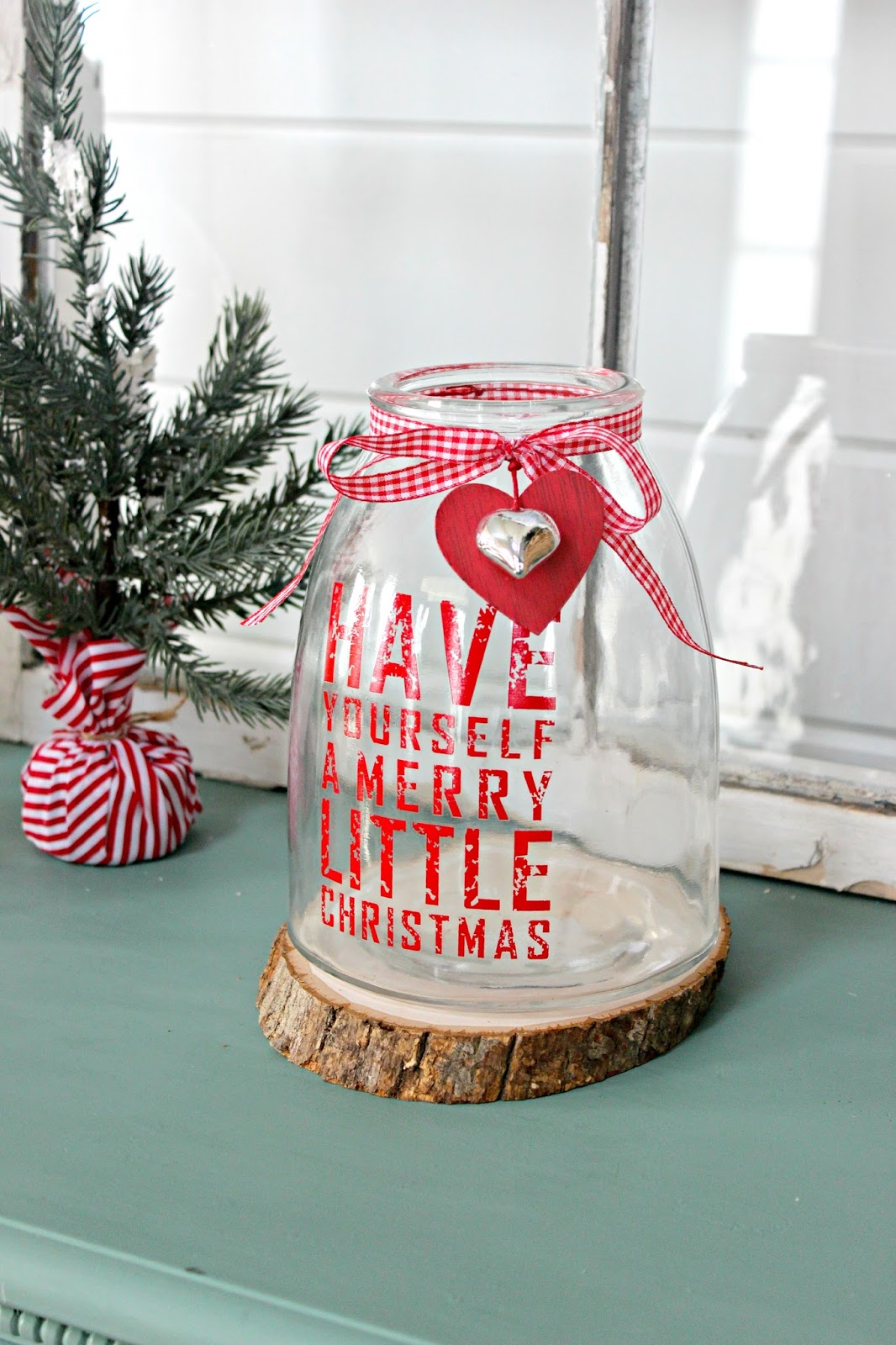 Christmas Home Tour Part 1 Delightfully Noted