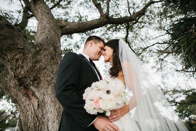 shabby+chic+wedding+spring+summer+pastel+champagne+pink+black+white+bride+groom+bouquet+ceremony+centerpiece+floral+flower+bridesmaid+dresses+dress+riverland+studios+6 - Charleston Pastel