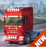 World of Truck Simulator Mod Apk v1.0.8.5 Build Your Own Cargo Empire (Unlimited Money)