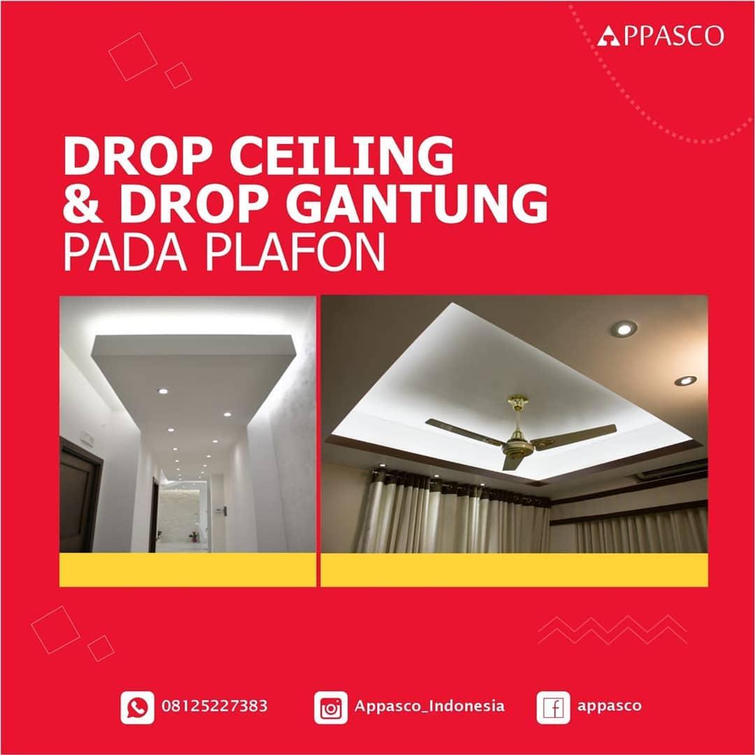 Drop Ceiling dan Drop Gantung Plafon Minimalis